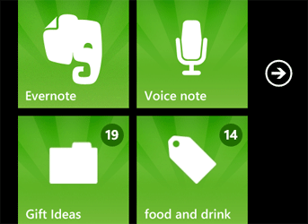 Evernote Update to Version 2 1 – More Mango Features | WP7