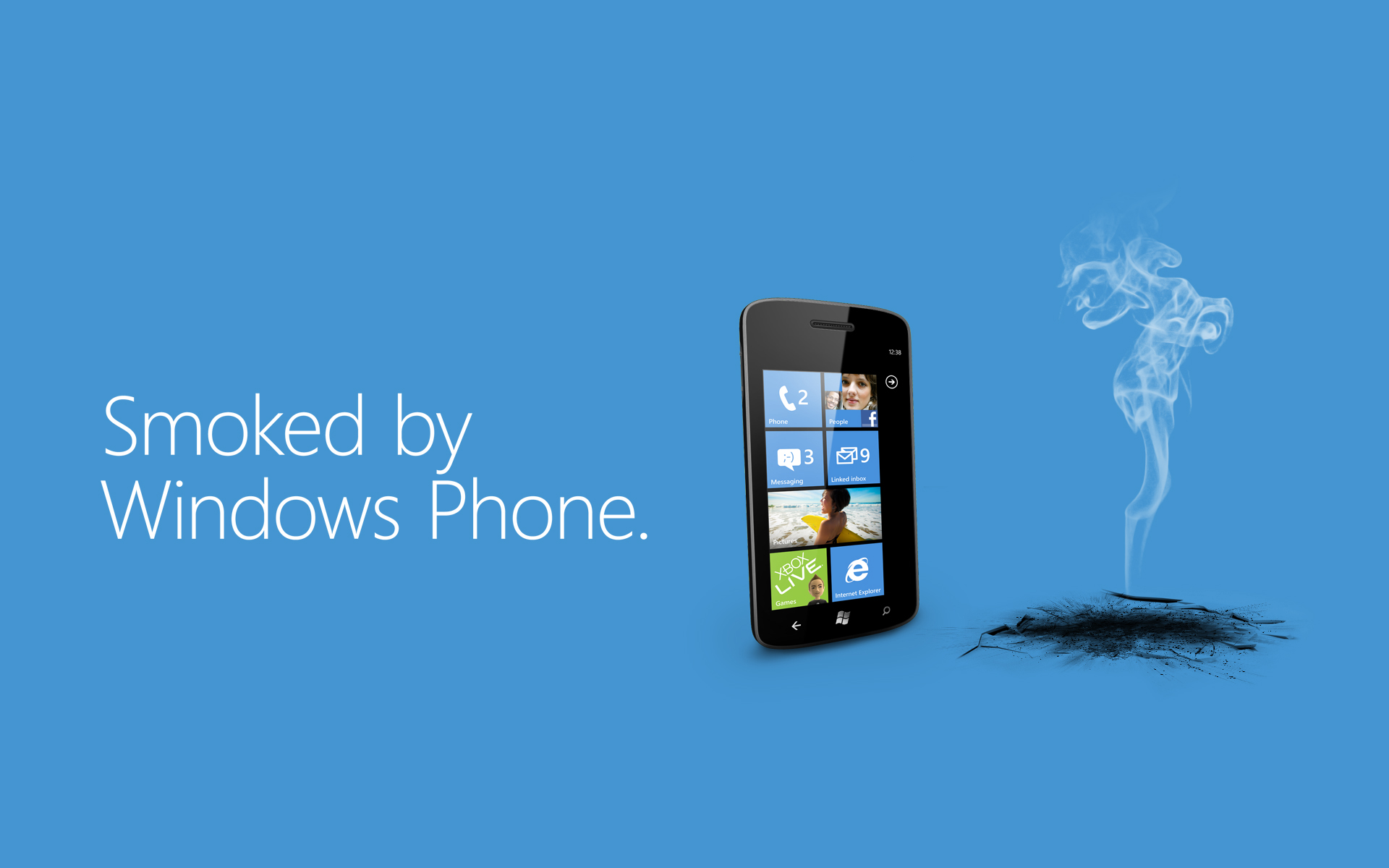 Microsoft Expanding 'Smoked by Windows Phone' to Advertisements ...