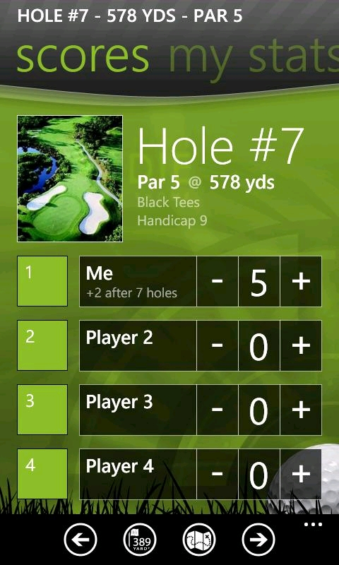 the caddie golf app is now available nokia windows. Black Bedroom Furniture Sets. Home Design Ideas