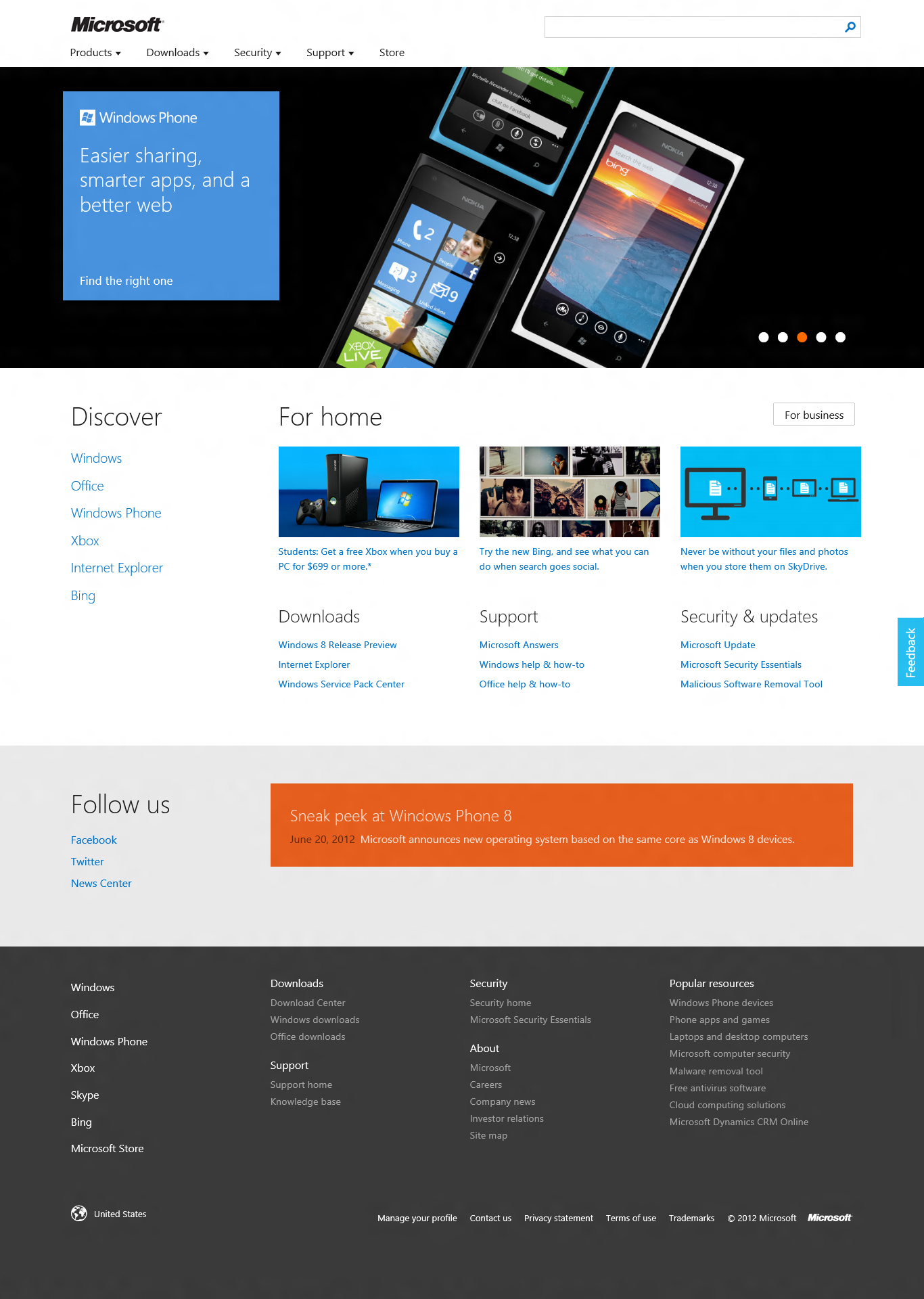 Microsoft com Getting a New Metro Design Free Your Mobile Life