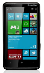 htc hd7 wp7 connect rh wp7connect com AT&T HTC Windows Phone 7 HTC HD7 Windows Phone Review