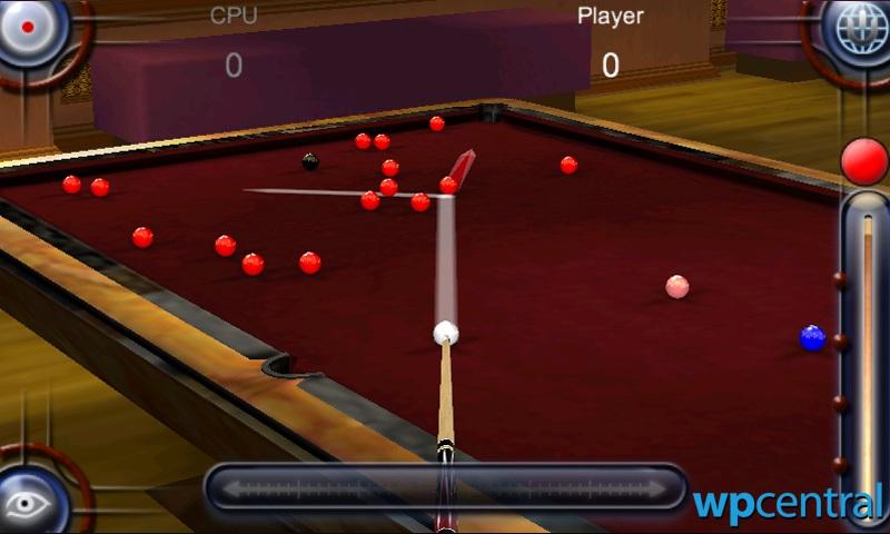 Namco bandai s pool pro online 3 coming to windows phone for Namco pools