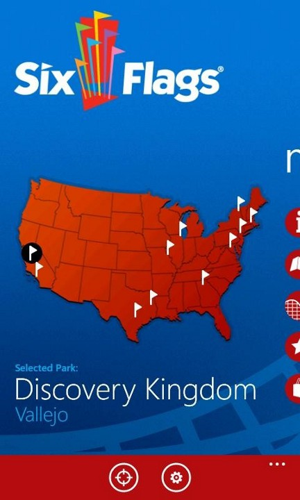 Nokia Exclusive Apps Six Flags Wp7 Connect