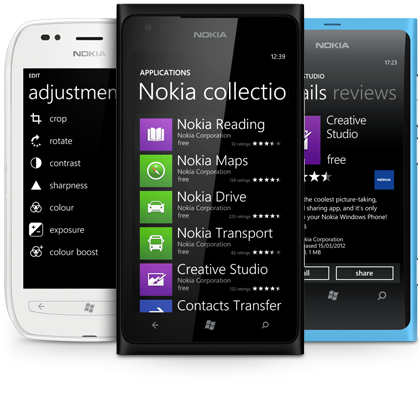 Nokia's Entire Windows Phone Lineup (Except 610) Going on