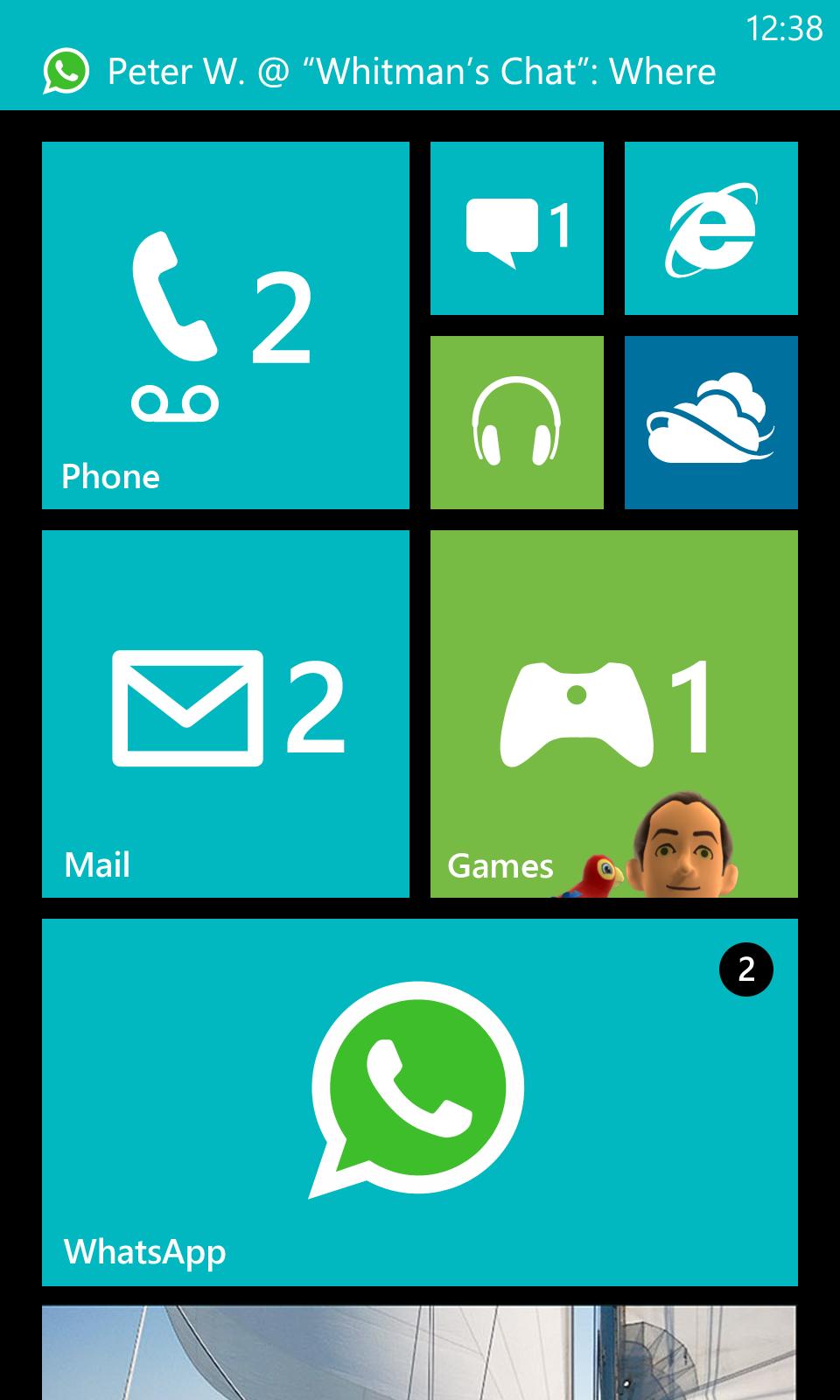 Leaked Windows Phone 8 Version Of Whatsapp Screenshots