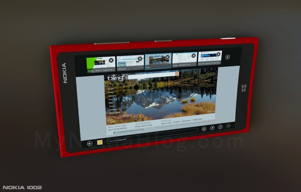Concept Art: 'Nokia 1002′ – 7.5′ inch Tablet