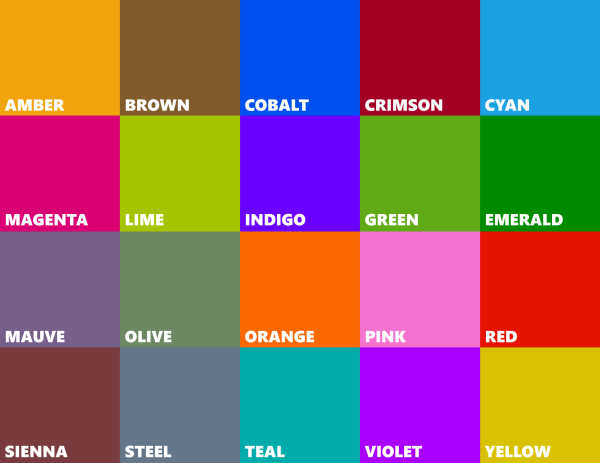 Leaked All New Colors Accent Colors For Windows Phone 8