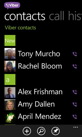 viber windows phone 7.8 скачать