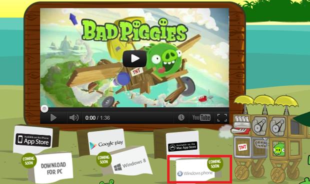bad piggies windows phone download