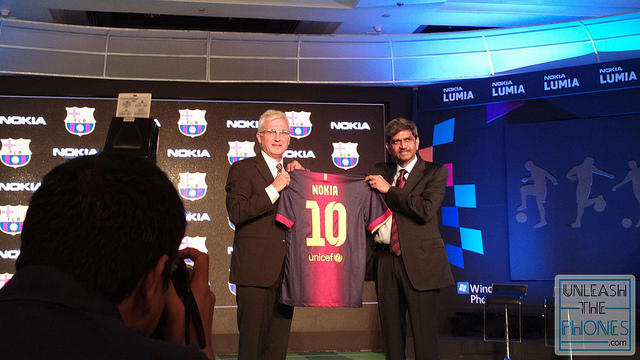 Nokia Joins Team FC Barcelona
