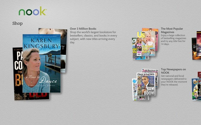 Barnes & Noble Launch Nook App for Windows 8/ RT Devices | WP7 Connect