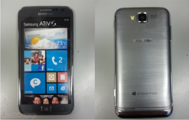 Samsung Ativ S Finally Shows Its Face Nope Just A Dumy Device