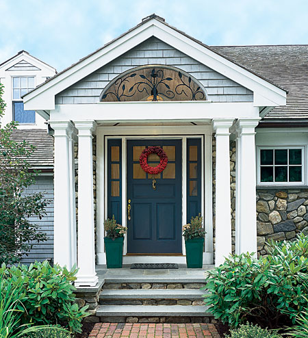 Portico wp7 connect for Exterior entryway design ideas
