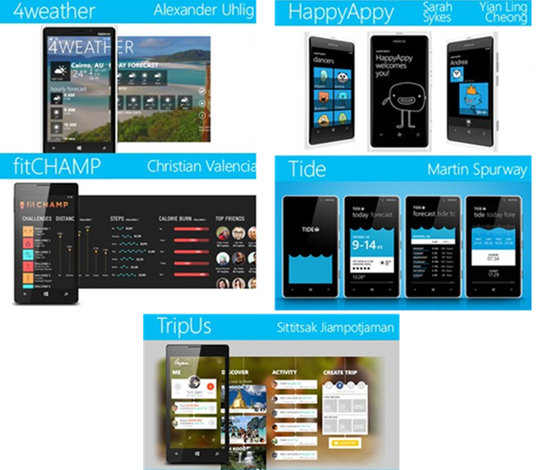 Core77: Winners Of App To The Future Design Challenge