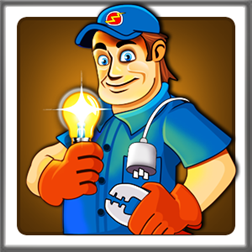 Sparky The Electrician: New Fun and Free Puzzle Game | WP7 Connect